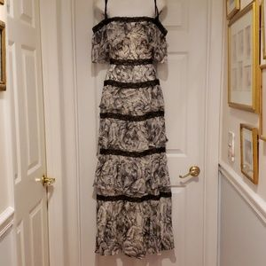 BCBG Absolutely Beautiful Tiered Gown
